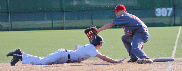 Henry catches MC base runner at first